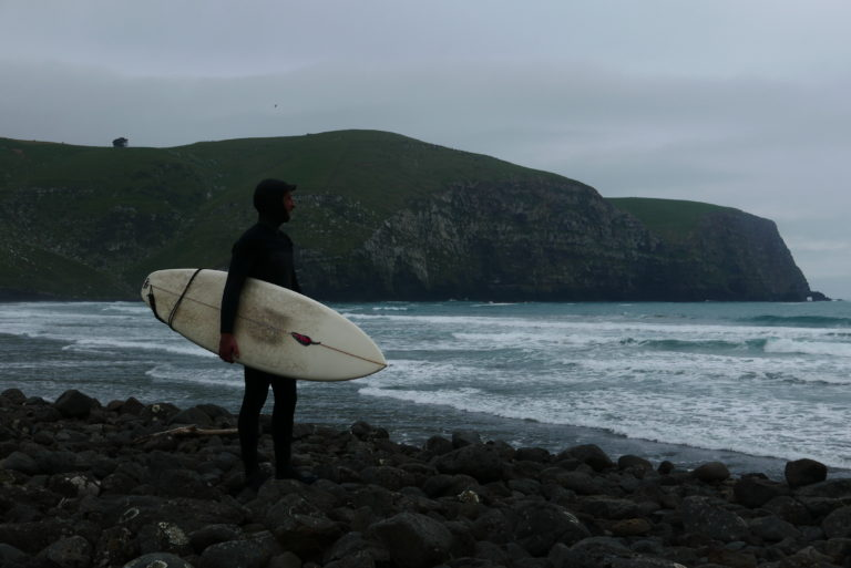 surfing south island new zealand